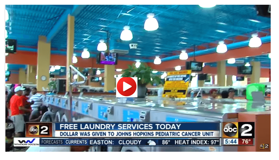 Free Laundry Day Baltimore