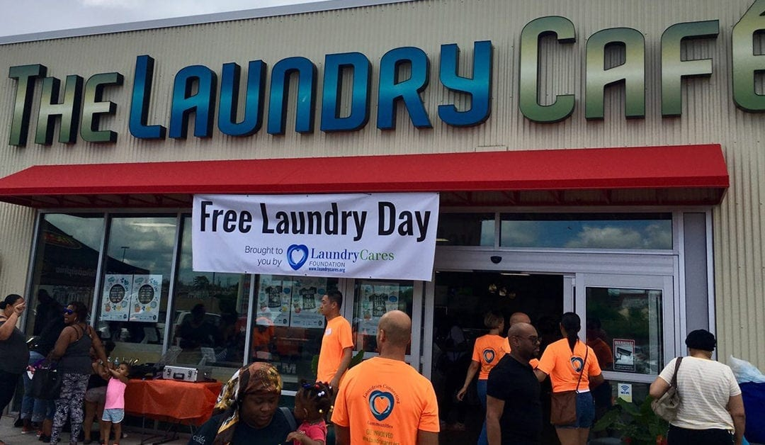 [VIDEO] Free Laundry Day Successful in Philadelphia, PA