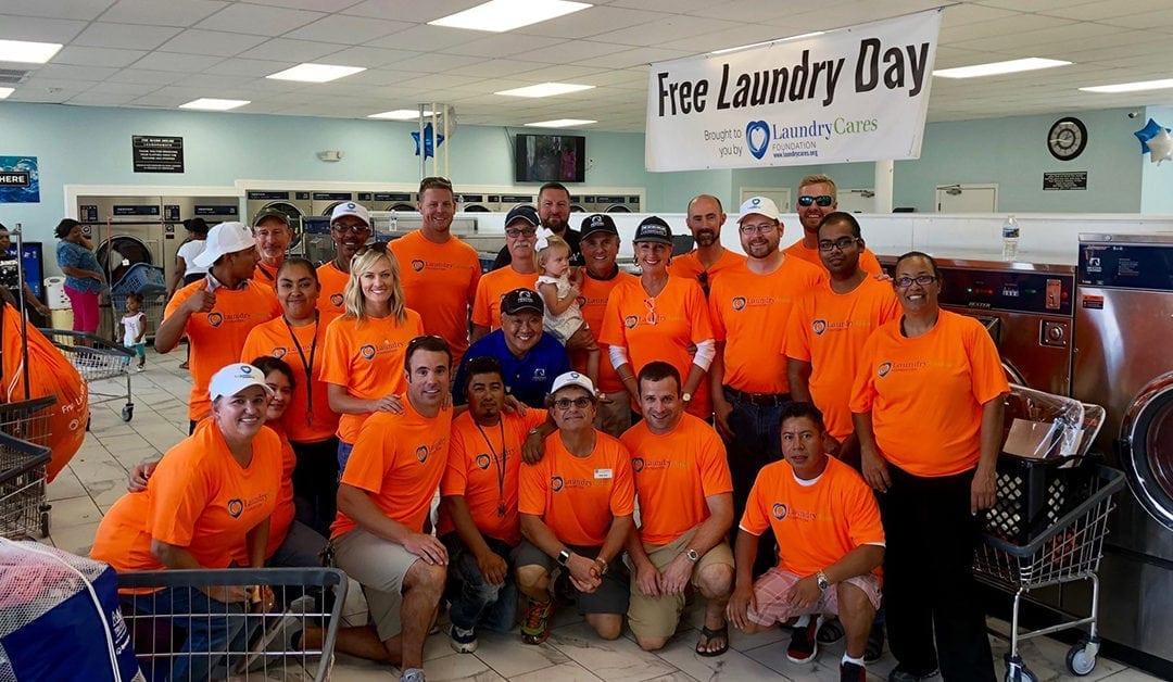"LaundryCares ""Hurricane Florence"" NC Event Recap"