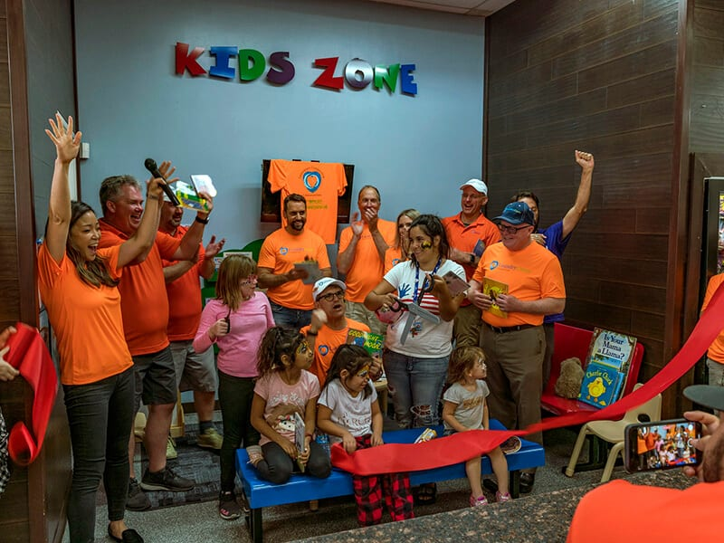 Family Read Play and Learn Ribbon Cutting