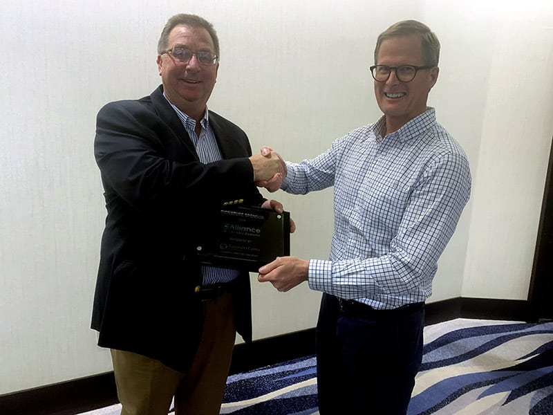 LaundryCares Recognizes Alliance Laundry Systems