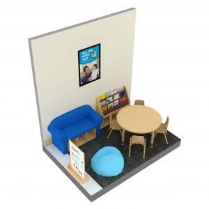 Family Court RPL Large Bookstand Kit