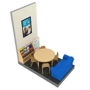 Family Court RPL Medium Bookstand Kit